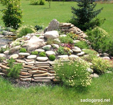 Альпинарий в вашем саду