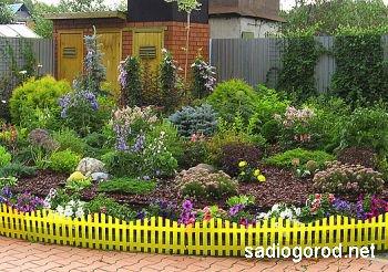 Художественное оформление садового участка