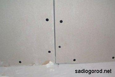 Обшивка стен дачи гипсокартонном